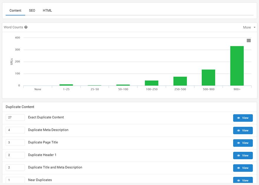 website content analysis tool