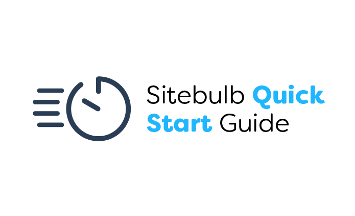 Sitebulb Quick Start Guide