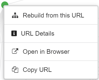 Rebuild from URL